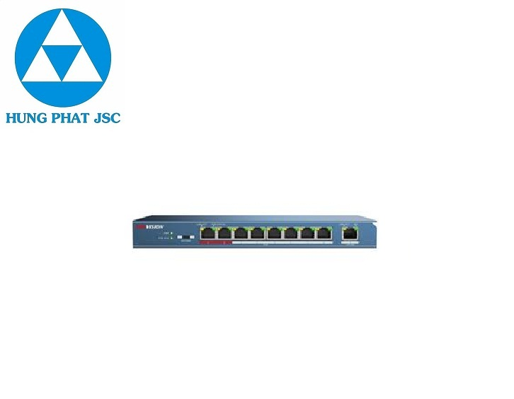 8-Port 100 Mbps Unmanaged PoE Switch